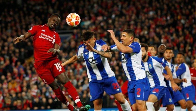 'Liverpool' un 'Tottenham Hotspur' sper pirmo soli tuvāk UEFA Čempionu līgas pusfinālam