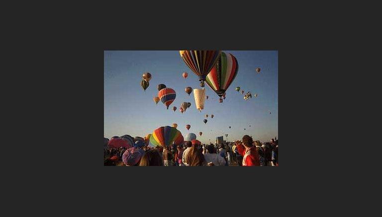 В июне пройдет фестиваль воздушных шаров