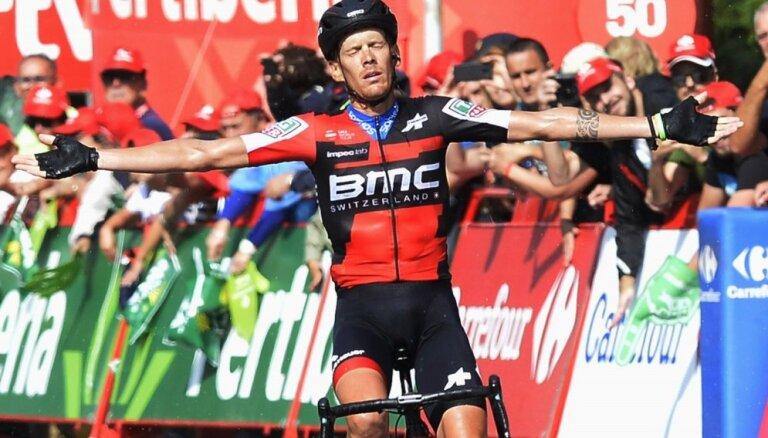 'Vuelta a Espana' garākajā posmā uzvar itālis de Marki