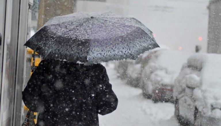 Gaisa temperatūra Latvijā pakāpusies līdz +5 grādiem