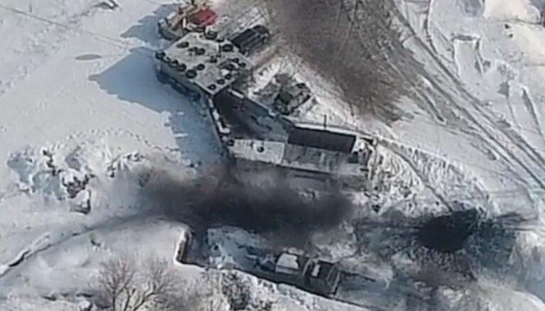 Video: 'Atmaksa' – ukraiņi iznīcina kaujinieku posteni Donbasā