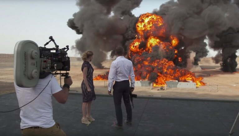 ВИДЕО: Взрыв в новом фильме про Бонда признан рекордным в истории кино