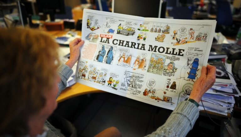 Charlie Hebdo выпустил карикатуру на теракт в Барселоне