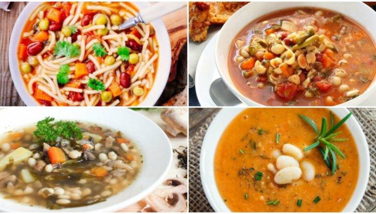 Fiksās pupiņu zupas bez gaļas: 18 receptes vieglākai pirmdienai