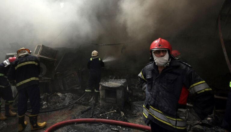 В результате взрыва в центре Багдада погибли 18 человек