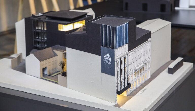 Суд запретил заключать договоры с другими строителями по проекту Нового Рижского театра