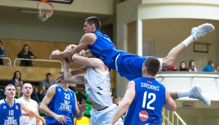'Ogres' basketbolisti salauž LBL pastarītes 'Jēkabpils' pretestību