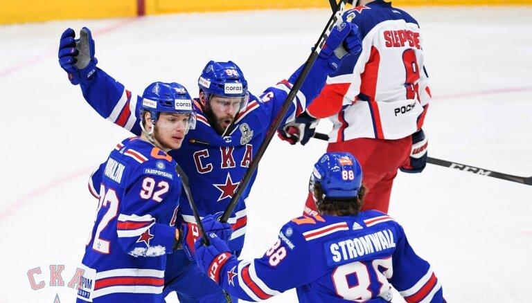 SKA uzvar trešajā pagarinājumā un neļauj CSKA noslēgt sēriju