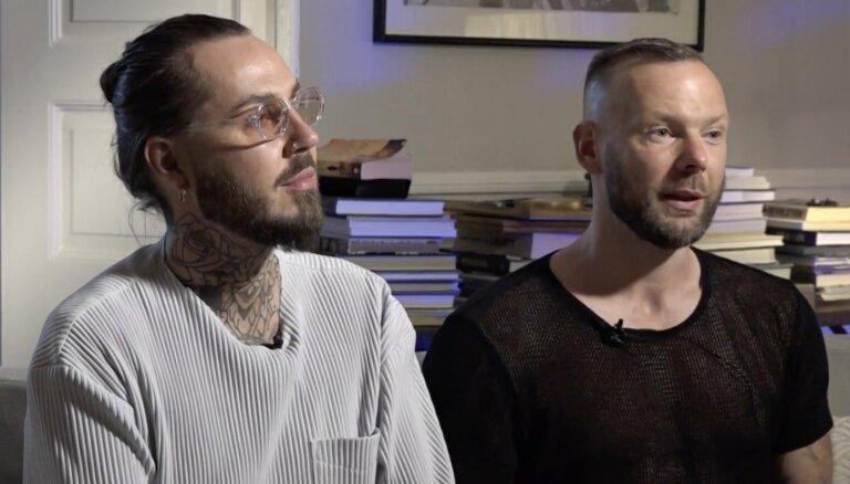 'Nenormāla nauda' – Kašeram ar vīru kremt, ka viņi nevarēja salaulāties Latvijā