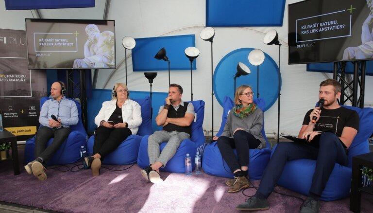 'Delfi' diskusija festivālā 'Lampa': Kā radīt saturu, kas liek apstāties?