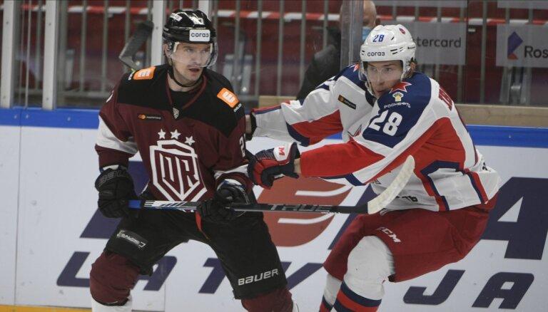 Rīgas 'Dinamo' cīnīsies pret septiņus gadus neuzvarēto Maskavas CSKA