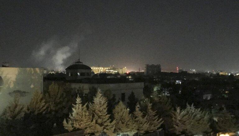 11. septembra gadadienā pie ASV vēstniecības Afganistānā noticis sprādziens