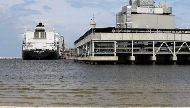 Lietuva jau nākamgad varētu sākt importēt no ASV sašķidrināto dabasgāzi