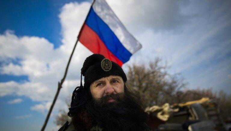 Serbu četņiku līderis aizturēts par dalību Ukrainas konfliktā