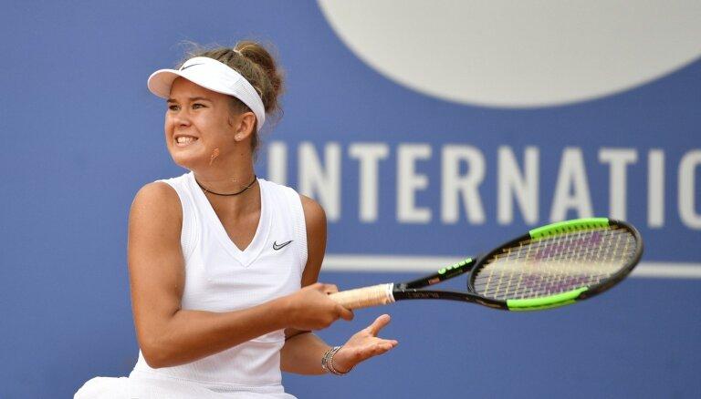 Bartone triumfējusi tenisa turnīrā Vācijā