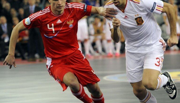 Испания — чемпион Европы по футзалу, у России — серебро
