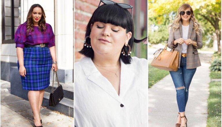 Vizuāli slaidāka un garāka: apģērbi, kas glaimo jebkuras sievietes augumam