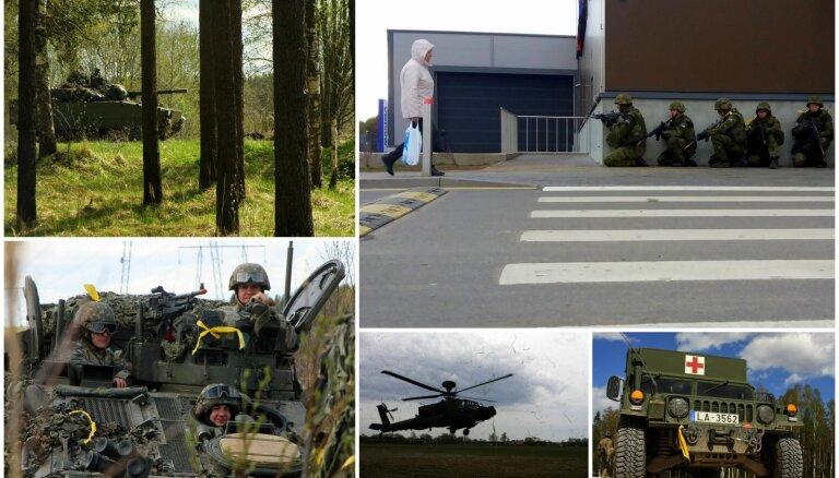 Foto: Kara izspēle pilsētās un ciemos demonstrē Igaunijas sabiedrības saliedētību