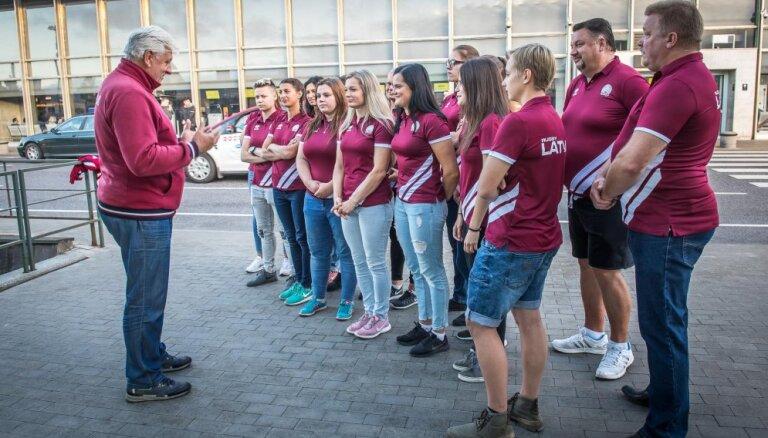 Latvijas sieviešu izlase regbijā 7 dodas uz EČ 'Trophy' divīzijas otro posmu