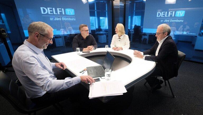 Европа: за кого голосовать? В студии — лидеры Нацблока Роберт Зиле, Даце Мелбарде, Ансис Пуполс