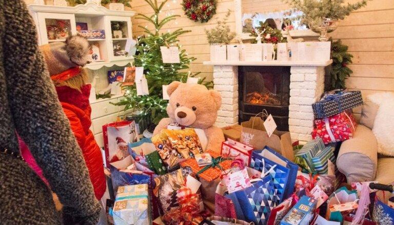 'Laimas' labdarības namiņā piepildīti 1 500 bērnu sapņi