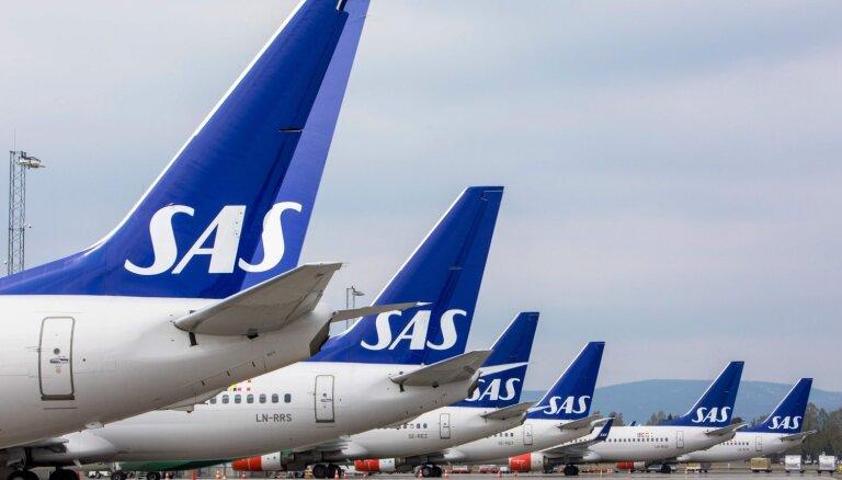 'Covid-19' izraisītā pieprasījuma krituma dēļ 'SAS' pārtrauks lidojumus uz Honkongu