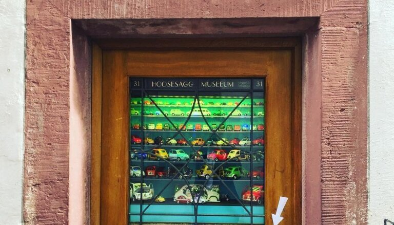 """ФОТО. Посмотреть можно, посетить нельзя: """"Карманный музей"""" — самая маленькая музейная экспозиция в мире"""