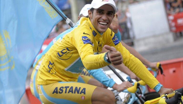 """Двукратный победитель """"Тур де Франс"""" Контадор в сентябре завершит карьеру"""