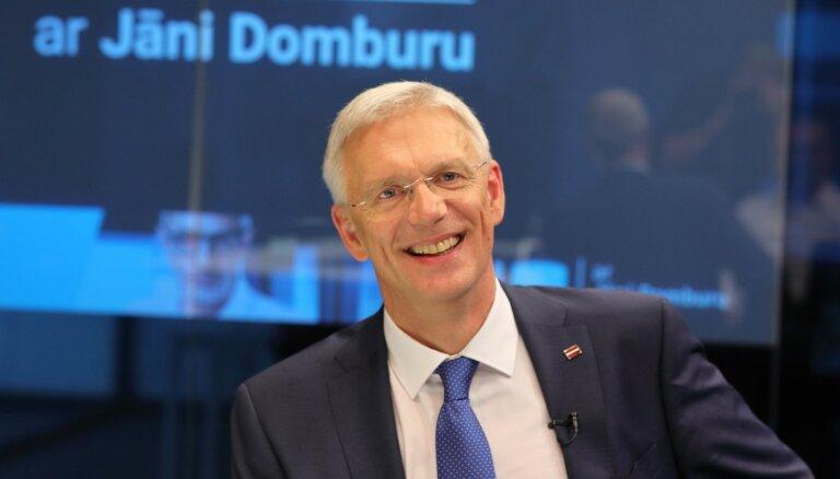 'Delfi TV ar Jāni Domburu' atbild Ministru prezidents Krišjānis Kariņš. Pilns ieraksts