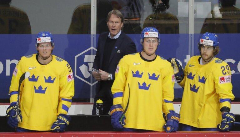Zviedrijas izlases treneris: šī ir liela izgāšanās gan man, gan nācijai