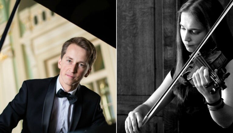 Baha kamermūzikas festivālu ieskandinās jauns duets - Daumants un Madara Liepiņi