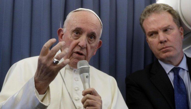 Piešķir papildu 145 700 eiro pāvesta vizītes atspoguļošanai sabiedriskajos medijos