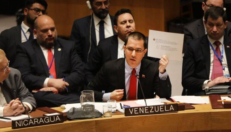 Venecuēlas ministrs noraida Eiropas ultimātu par ārkārtas vēlēšanām