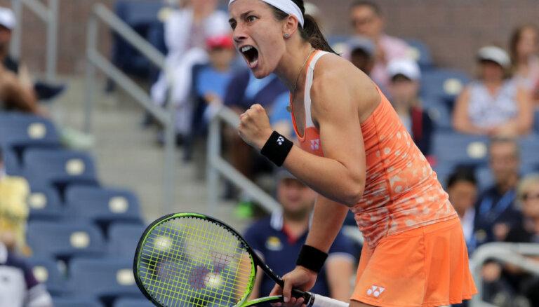 Севастова одержала волевую победу над Макаровой в 1/16 финала US Open