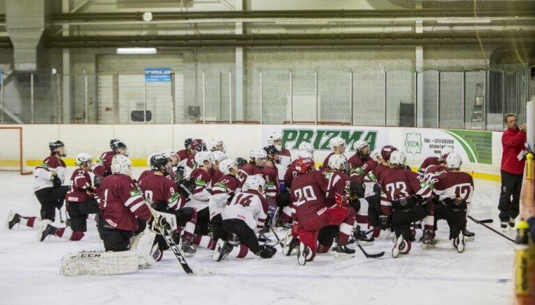 Nosaukts Latvija U-20 hokeja izlases sastāvs pasaules čempionātam