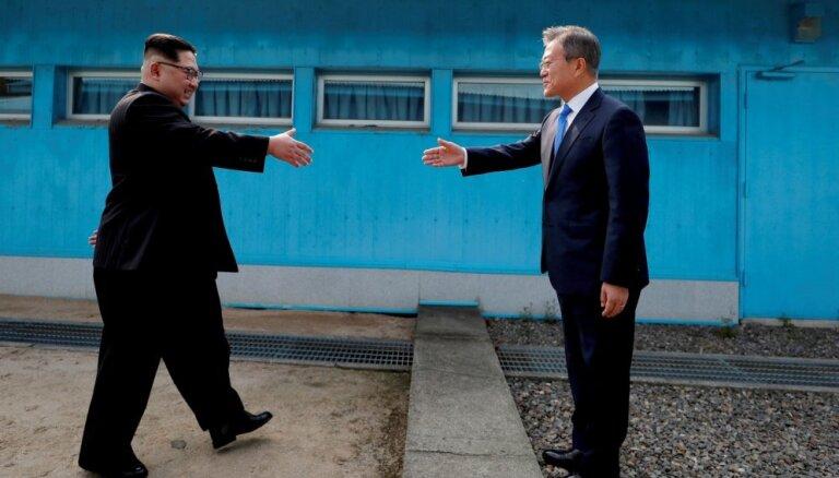 Jaunākajā Dienvidkorejas aizsardzības ziņojumā Ziemeļkoreja netiek saukta par ienaidnieku
