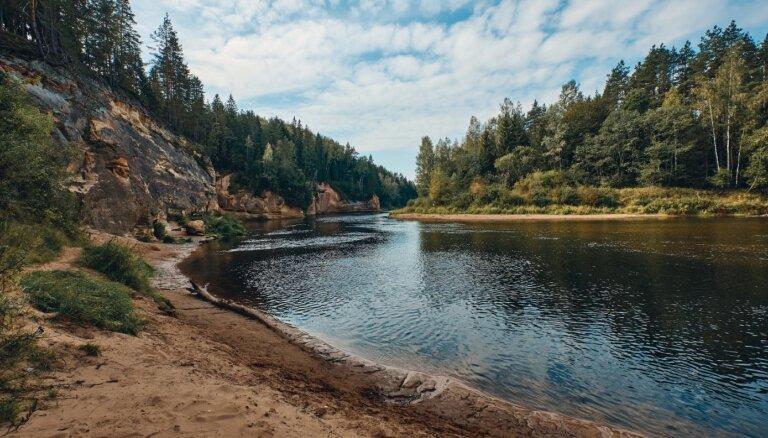 Латвийцы считают Гаую самой красивой рекой Латвии