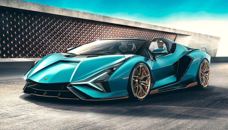 'Lamborghini' automobiļu elektrifikācijai atvēlēs 1,5 miljardus eiro