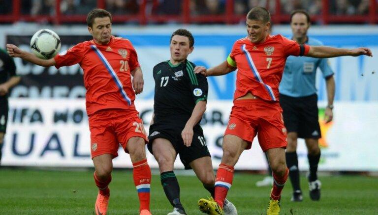 Сборная России одержала первую победу при Капелло