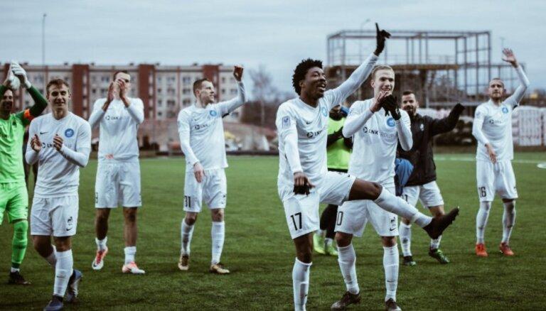 Galvaspilsētas klubu derbijā RFS futbolisti apspēlē 'Riga'