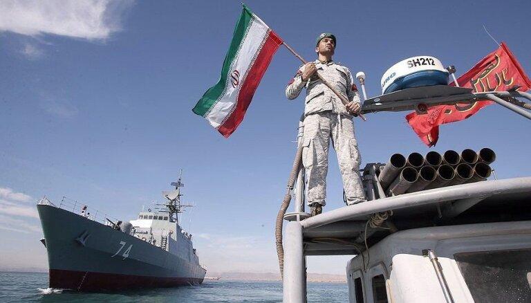 Irāna un Krievija plāno aizvadīt mācības Kaspijas jūrā