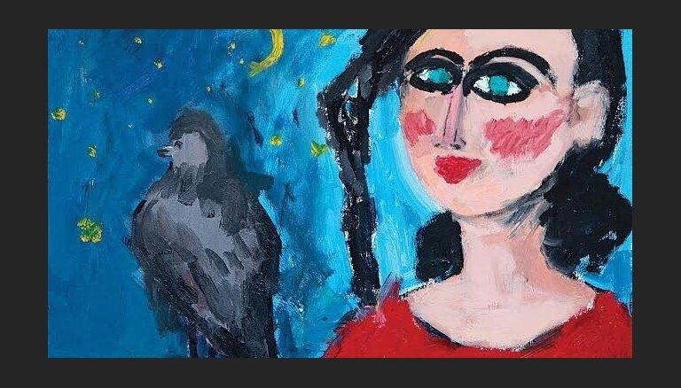 Rīgā būs skatāma azerbaidžāņu mākslinieces Marjamas Alakbarli izstāde 'Nakts mūzika'