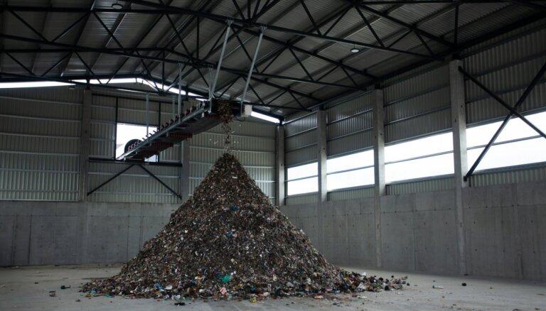 'Getliņi EKO' uzsāk pārstrādes tuneļu aizpildīšanu ar dārzu un pārtikas atkritumiem