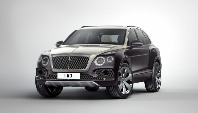 'Bentley Bentayga' visdārgākajā versijā 'Mulliner'