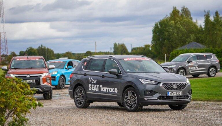 14 jaunākie automobiļi uz starta 'Latvijas Gada auto 2020' rudens testā