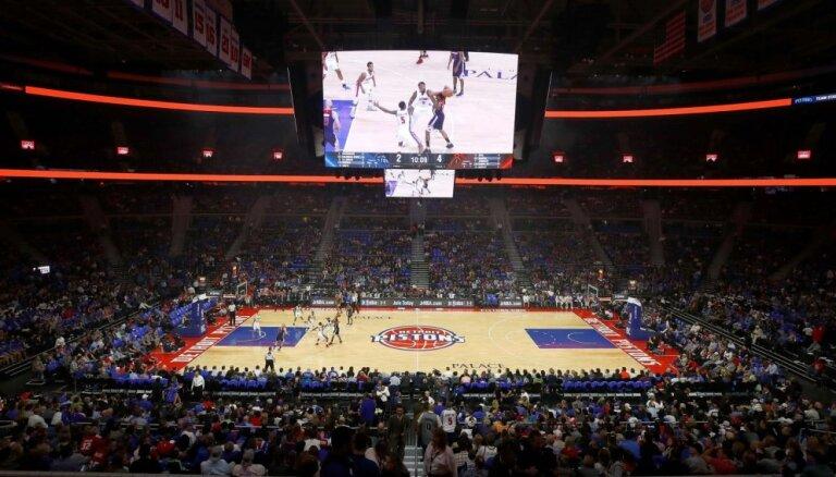 'Pistons' iegūst NBA drafta pirmo izvēli