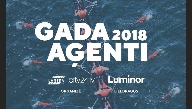 Konkursā 'Gada aģenti 2018' noteiks labākos nekustamā īpašuma aģentus
