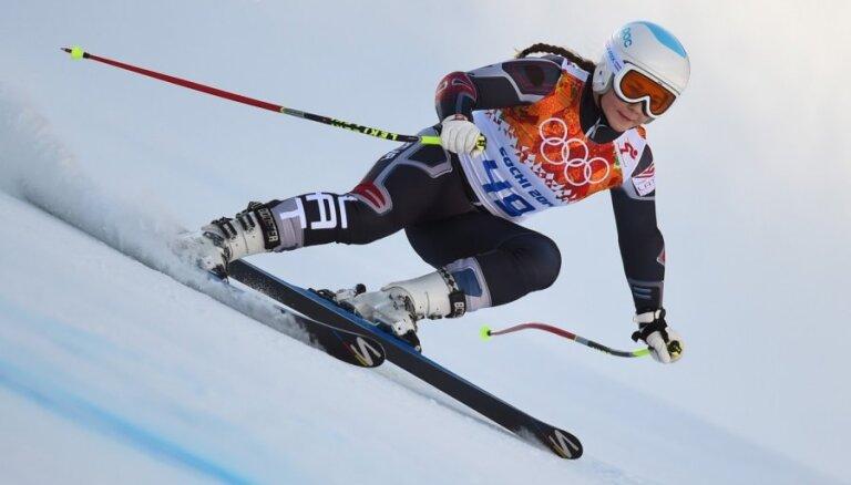 Kalnu slēpotāja Āboltiņa trešo reizi nedēļā uzstāda jaunu karjeras labāko rezultātu