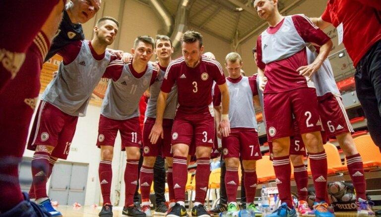 Latvijas telpu futbola izlase sasniedz Pasaules kausa kvalifikācijas pamatturnīru