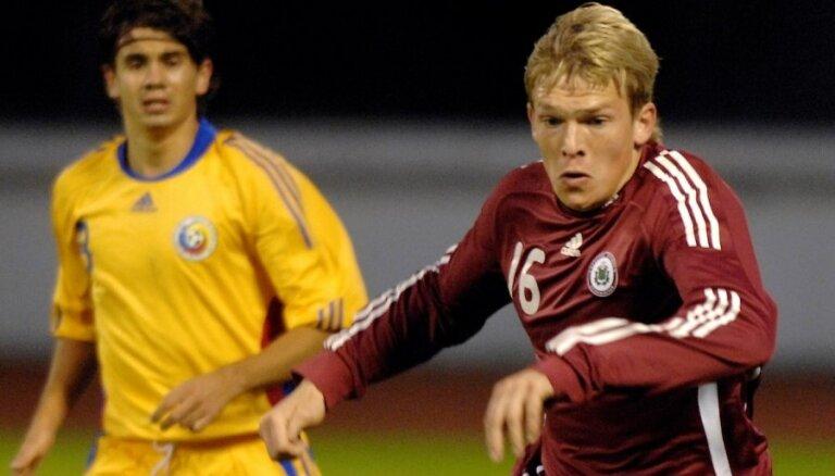 Nīderlandes futbolisti baidās no Latvijas, uzskata Rudņevs